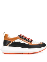 Robert Clergerie Colour Blocked Low Top Sneakers 60