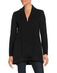 Calvin Klein Shawl Collar Coat Black