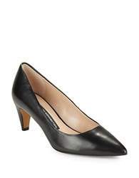 French Connection Korina Leather Pumps Black