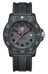 Luminox Black Ops Carbon Silicon Strap Watch 45Mm