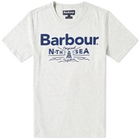 Barbour Cove Tee Grey