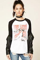 Forever 21 The Who Tour Tee White Black