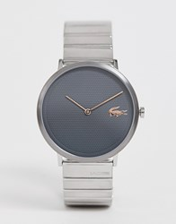 Lacoste Moon Bracelet Strap Watch In Silver