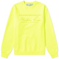 Martine Rose Collection Date Crew Sweat Green