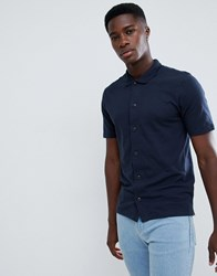 Selected Slim Fit Polo Shirt Dark Saphire Navy