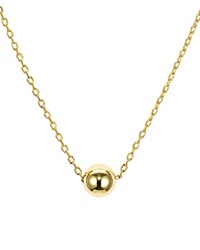 Aqua Sterling Silver Sphere Pendant Necklace 16 100 Exclusive Gold