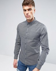 Blend Of America Woven Pattern Slim Fit Shirt 70230 Navy