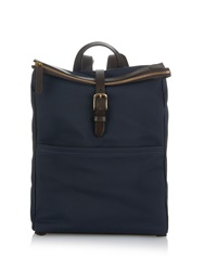 Mismo M S Express Nylon And Leather Backpack