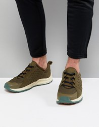 The North Face Mountain Trainers In Green Navy Green Navy Multi