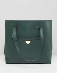 New Look Tote Bag Dark Green