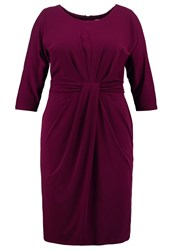Studio 8 Marina Jersey Dress Deep Wine Dark Red