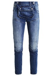 G Star Gstar 5620 3D Pouch Boyfriend Relaxed Fit Jeans Hadron Denim Blue Denim