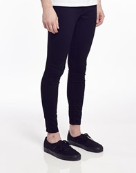 Cheap Monday Low Spray Jeans In Super Skinny Fit Black