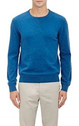 Z Zegna Heathered Sweater Blue