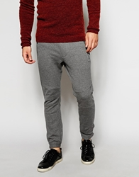 Antony Morato Sweatpants With Button Cuff Ankle Greymelange