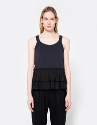Marni Crew Neck T Shirt In Blublack Blublack Black
