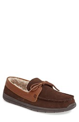 Men's Tempur Pedic 'Downslope' Slipper Chocolate