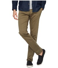 Mavi Jeans Johnny Regular Rise Slim Chino In Sage Twill Sage Twill Men's Casual Pants Taupe