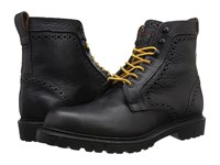 Allen Edmonds Sturgis 2.0 Black Worn Saddle Men's Dress Lace Up Boots