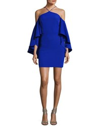 Milly Chelsea Cady Cocktail Dress Cobalt