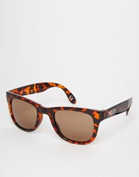 Vans Foldable Spicoli Sunglasses In Brown Vunk9d7 Brown