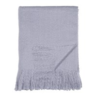 Dkny Mohair Look Throw Purple