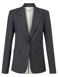 Jigsaw London Pinspot Jacket Charcoal