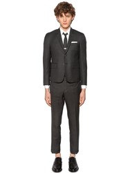 Thom Browne Skinny Fit Light Wool Gabardine Suit