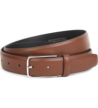 Sandro Loop Leather Belt Brown