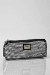 Nyx Fishnet Zipper Makeup Bag Black