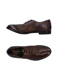 Alexander Hotto Lace Up Shoes Military Green