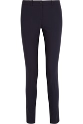 Michael Kors Samantha Stretch Wool Gabardine Skinny Pants