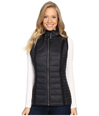 Kuhl Spyfire Hooded Vest Raven Black