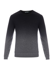 Vince Ombre Wool And Cashmere Blend Sweater