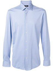 Hugo Boss Classic Dress Shirt Blue