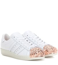 Adidas Superstar 80S 3D Embellished Leather Sneakers White
