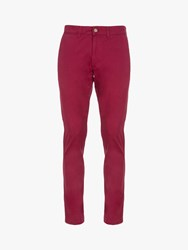 Eden Park Perth Straight Fit Chino Red