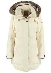 Roxy Ellie Winter Coat Offwhite Off White
