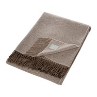 Somma Flapper Throw Natural Brown