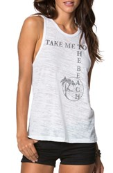 O'neill Women's O'neil Take Me To The Beach Graphic Tank