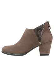 Stonefly Macy 6 Ankle Boots Almond Beige