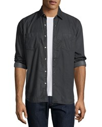 Culturata Special Resin Wash Western Shirt Black