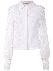 Martha Medeiros Luciene Shirt White