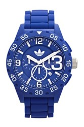 Adidas Men's Newburgh Chronograph Watch Blue