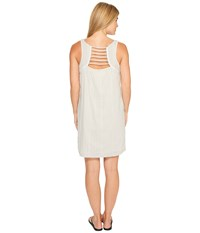 Carve Designs Brooke Dress Light Grey Mist Women's Dress Gray