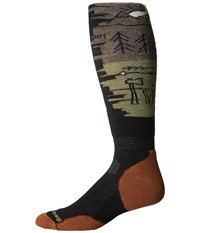 Smartwool Phd Slopestyle Light Osorno Black Men's Knee High Socks Shoes