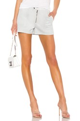 David Lerner Seamed Cargo Short Gray