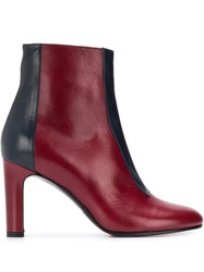 Michel Vivien Cleve Two Tone Ankle Boots 60