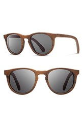 Shwood Women's 'Belmont' 48Mm Wood Sunglasses