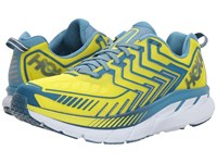 Hoka One One Clifton 4 Sulphur Spring Midnight Running Shoes Yellow